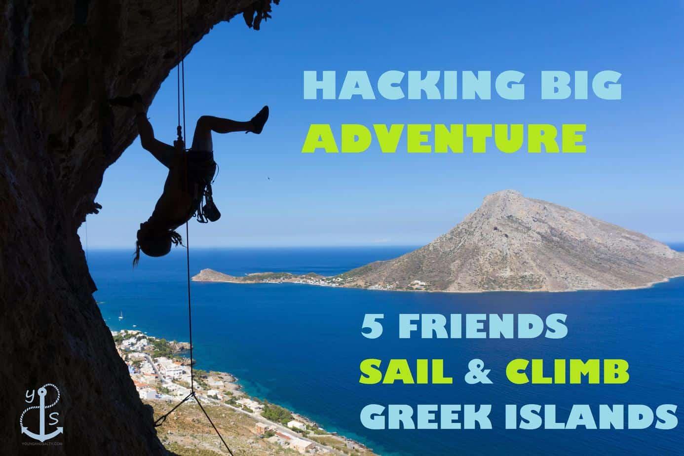 sailing and climbing
