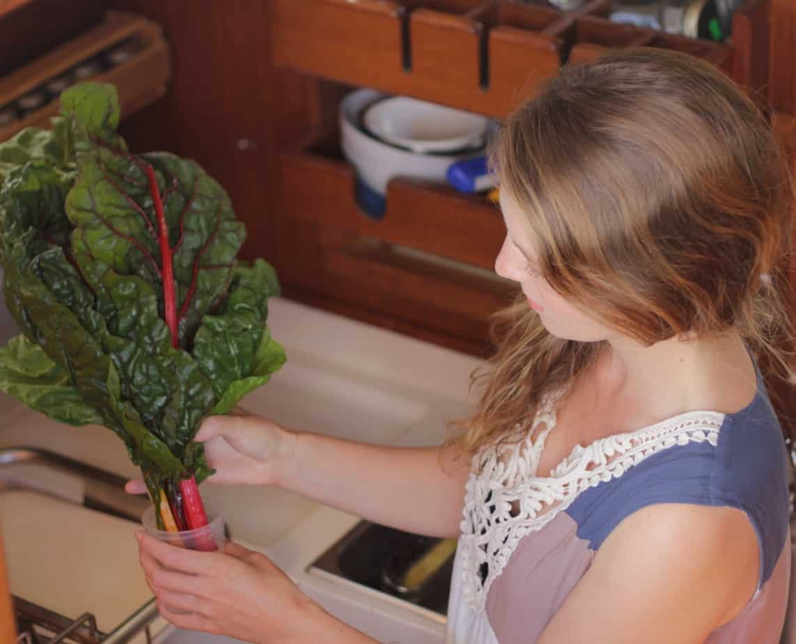 storing greens without a fridge