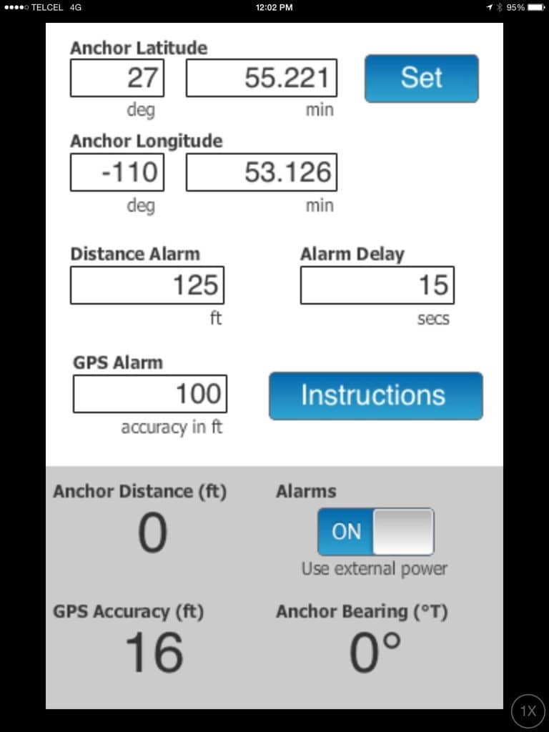 Drag Queen anchor alarm app