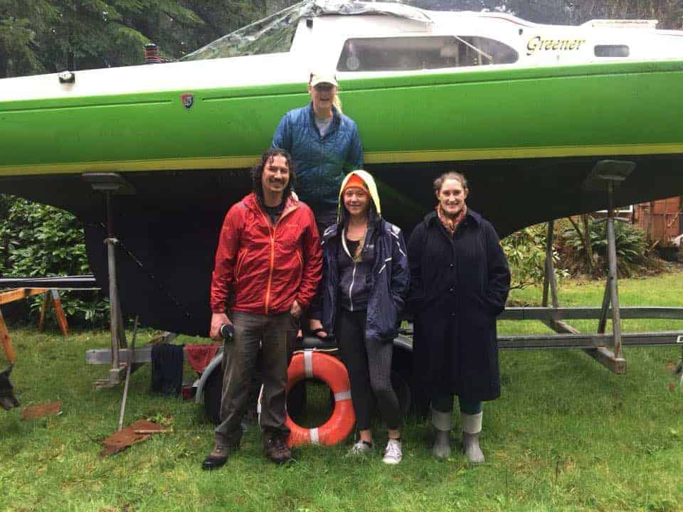 team global diving R2AK young sailors