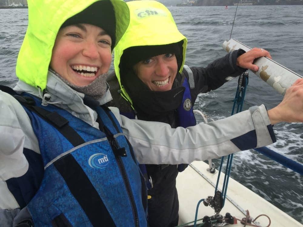 team kelp R2AK young sailors