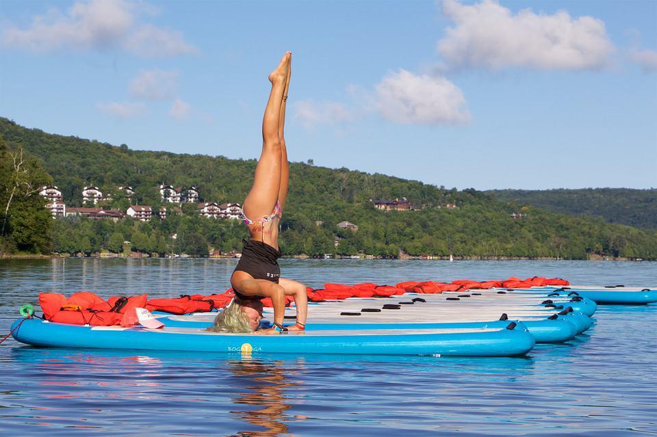 boat yoga