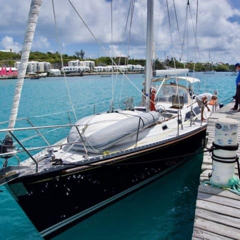 Getting offshore sailing experience