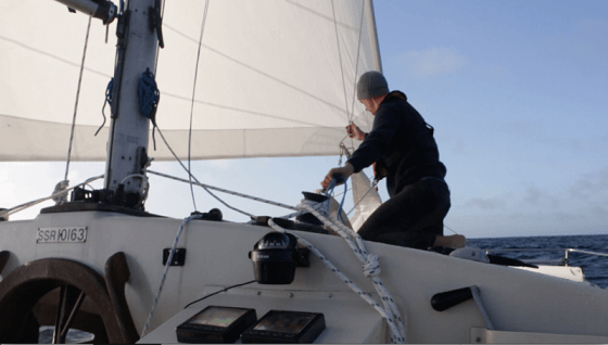 Sailing around the world on a budget