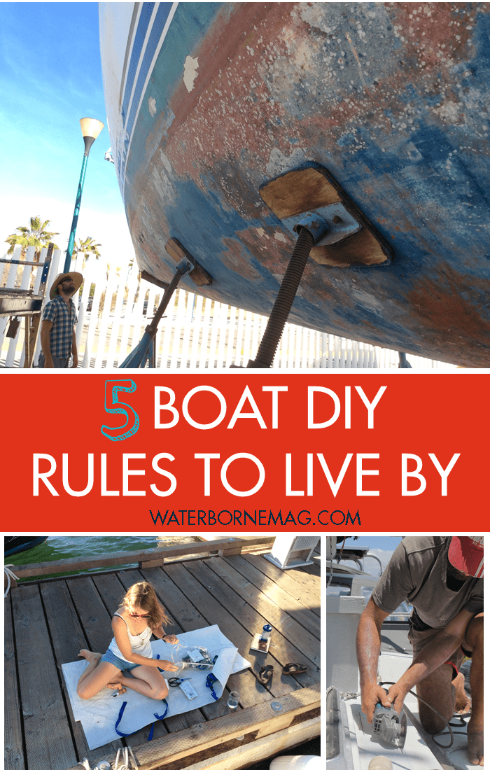 5 boat diy rules to live buy