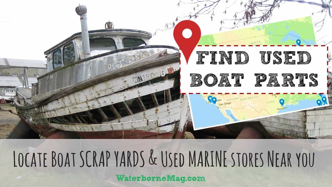 used boat parts