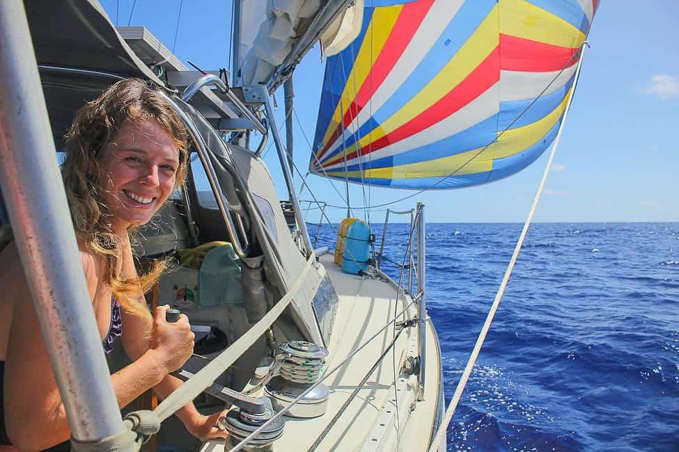 cheap sailboat